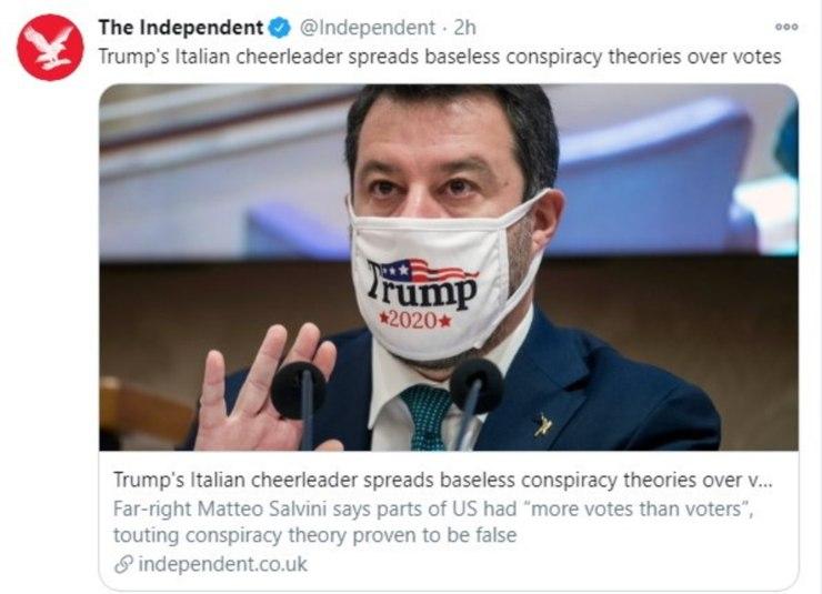 Tweet The Independent