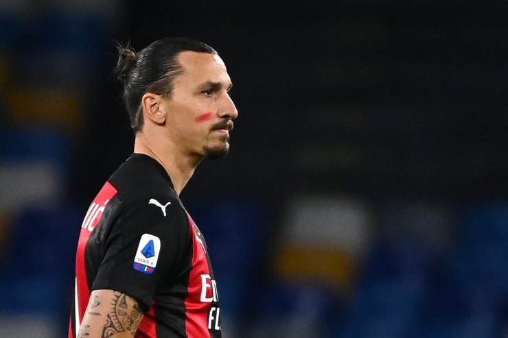 Zlatan Ibrahimovic Napoli-Milan