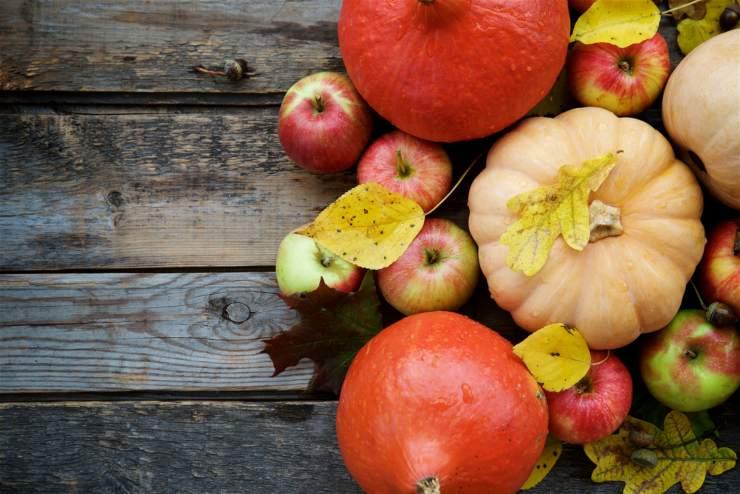 Frutta e verdura di stagione - Novembre (foto dal web)