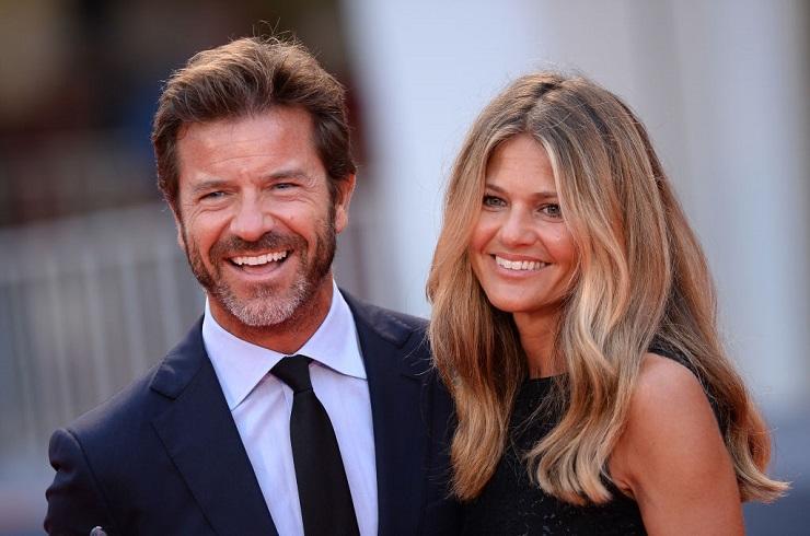 Paolo Conticini e sua moglie