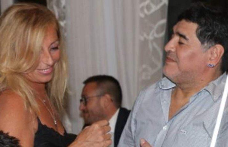 Cristiana Sinagra e Diego Armando Maradona