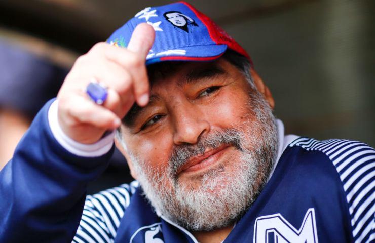 Camera ardente Maradona