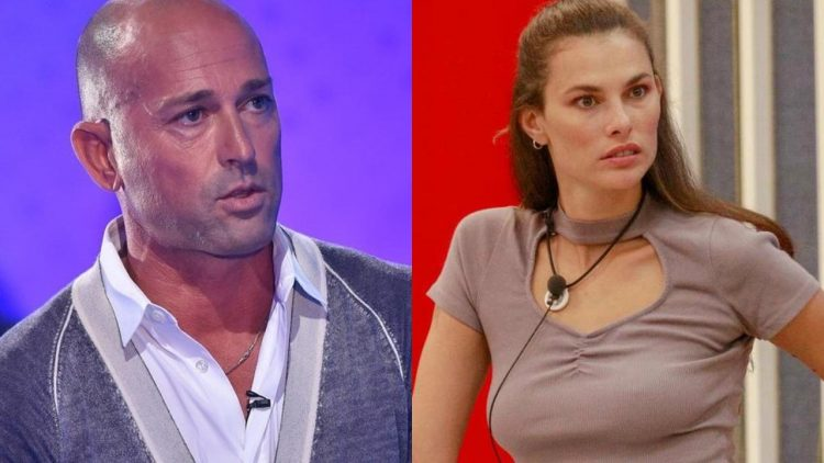 Stefano Bettarini e Dayane Mello Scontro (collage foto dal web)