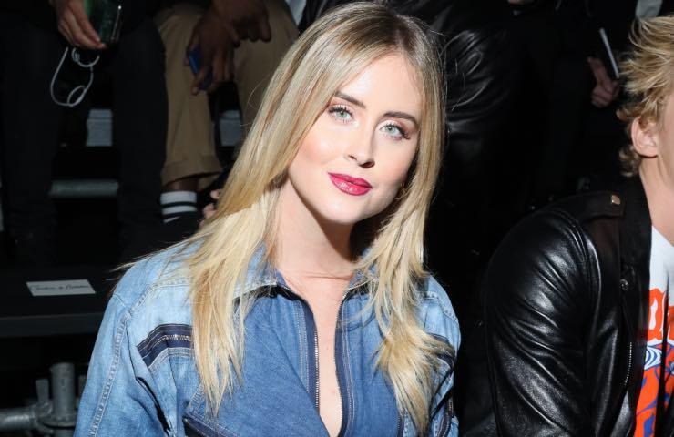 Valentina Ferragni perfetta sponsor lucine