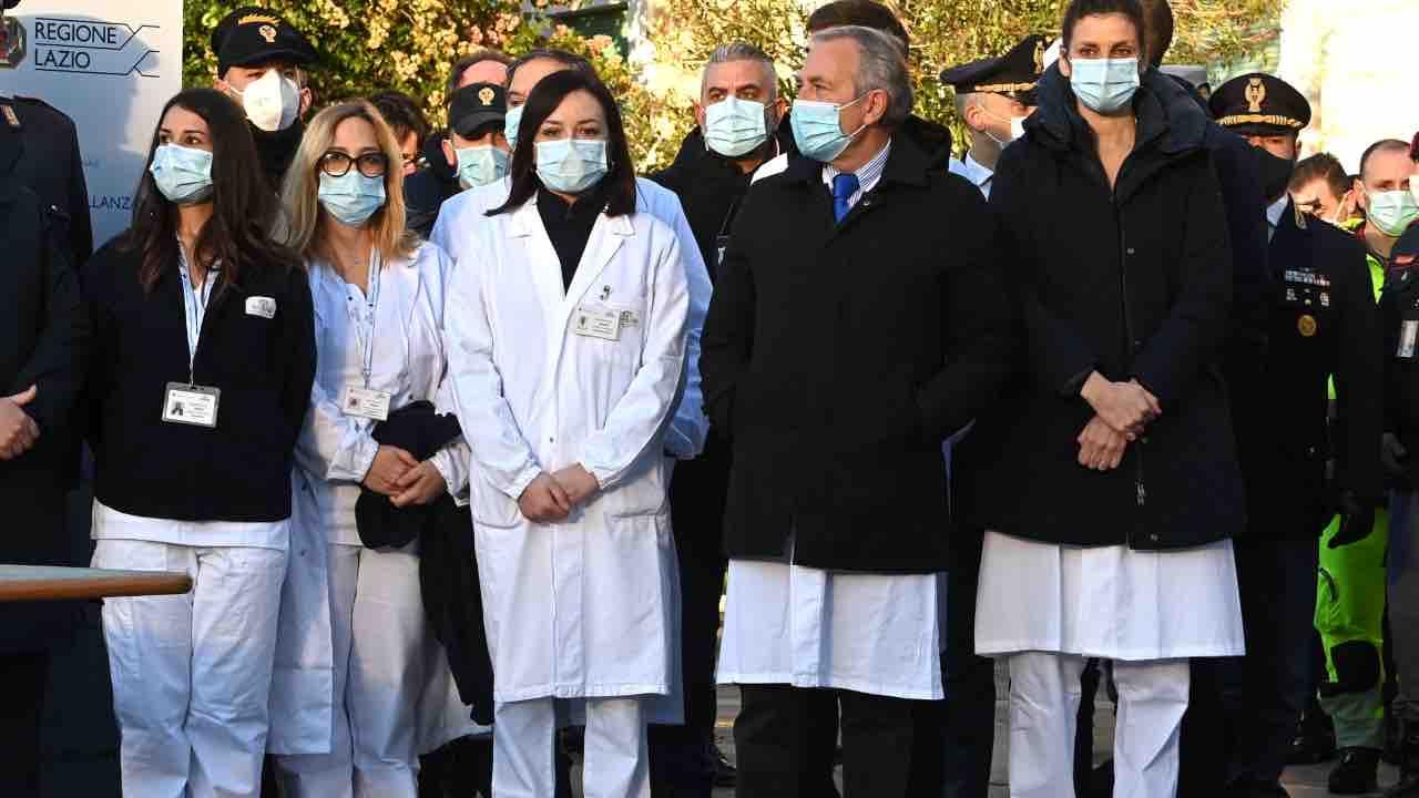 Claudia Alivernini infermiera smentisce minacce morte