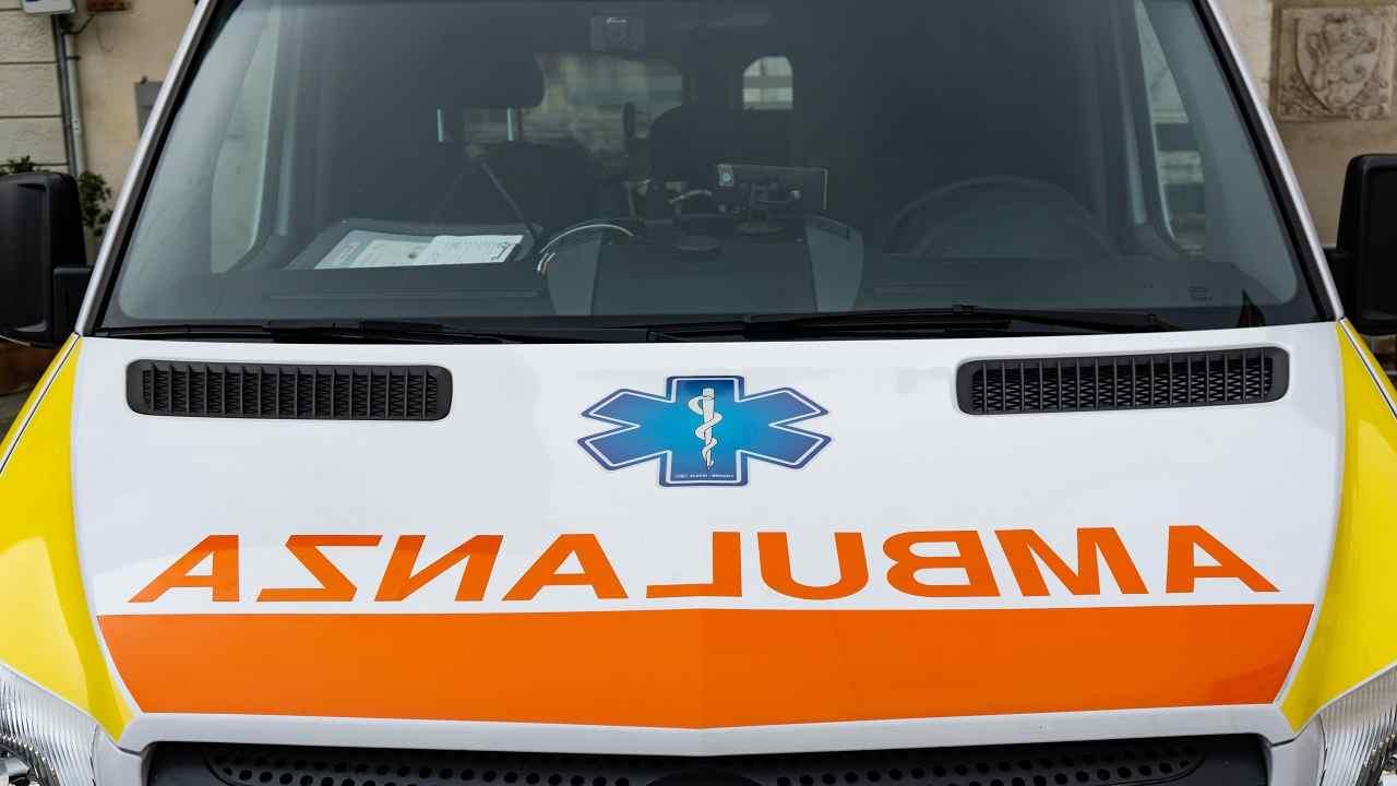 Lecce incidente motociclista