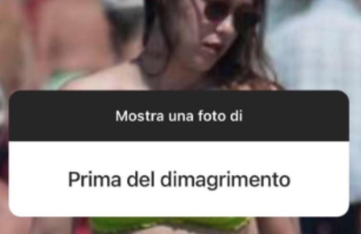 Aurora Ramazzotti prima dimagrimento