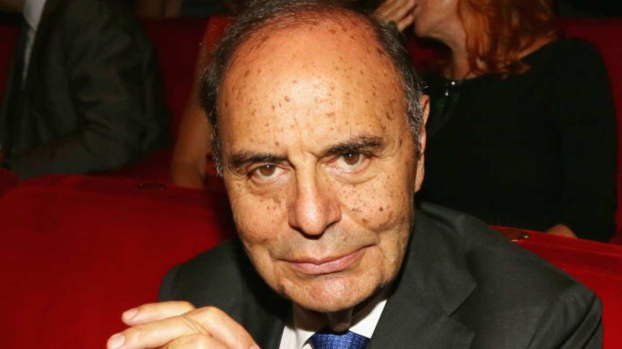 Bruno Vespa furioso Amadeus giornalista motivo