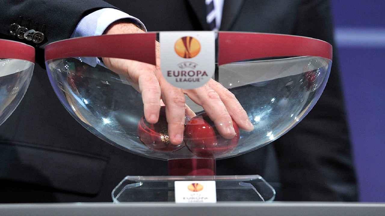Europa League sorteggio sedicesimi