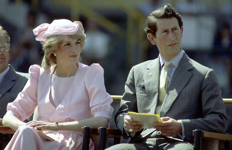 Lady Diana ed il Principe Carlo (getty images)