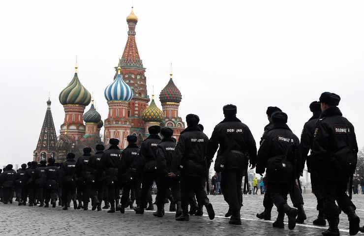 polizia russa