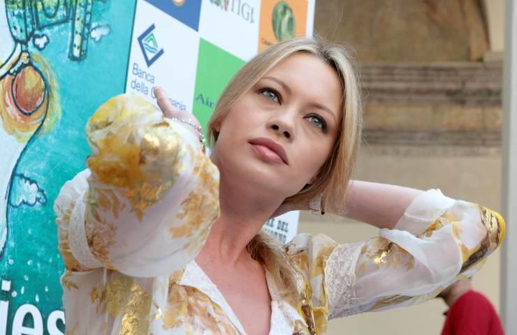 la showgirl Anna Falchi