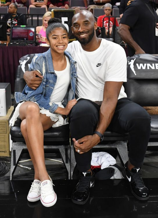 Kobe e Gigi Bryant