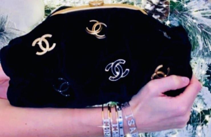 Ilary Blasi borsa Chanel