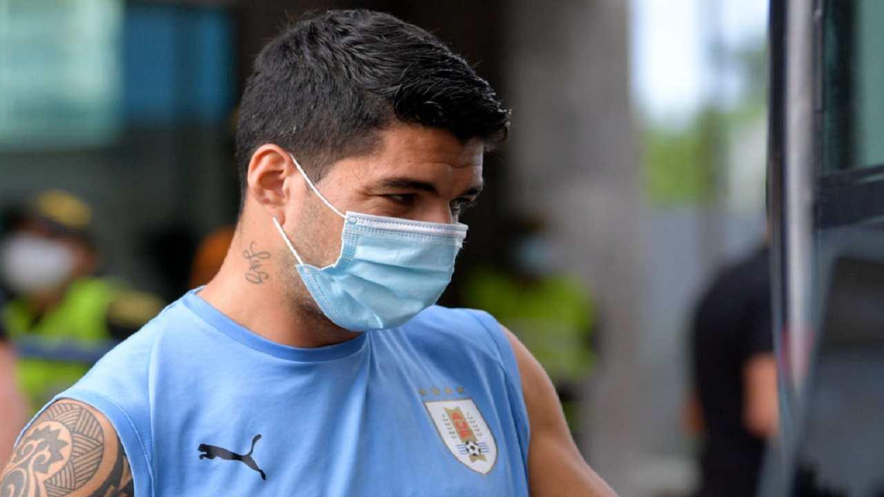 Luis Suarez esame Perugia