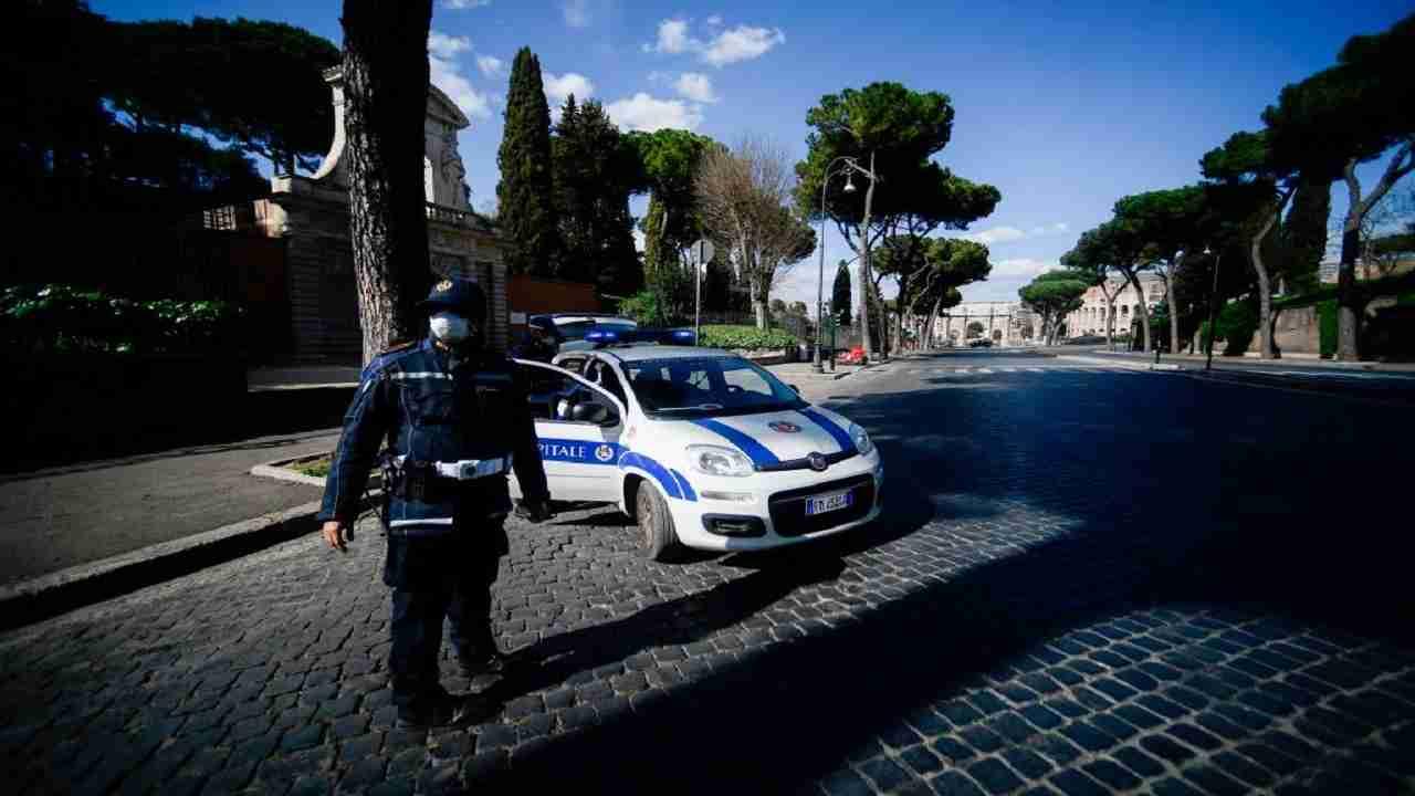 Roma Pontina incidente investito tir