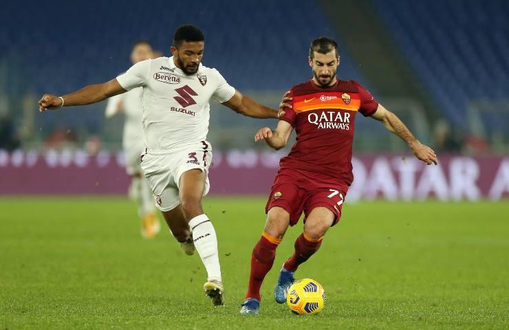 Roma-Torino pagelle tabellino
