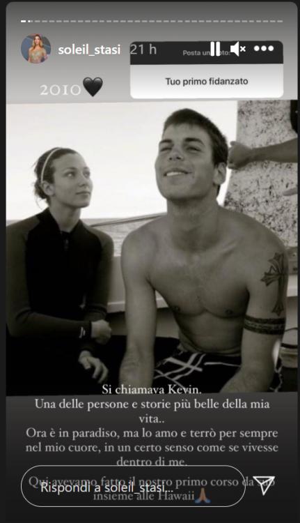 Soleil Stasi, la frecciatina all'ex Luca Onestini, scatta la polemica