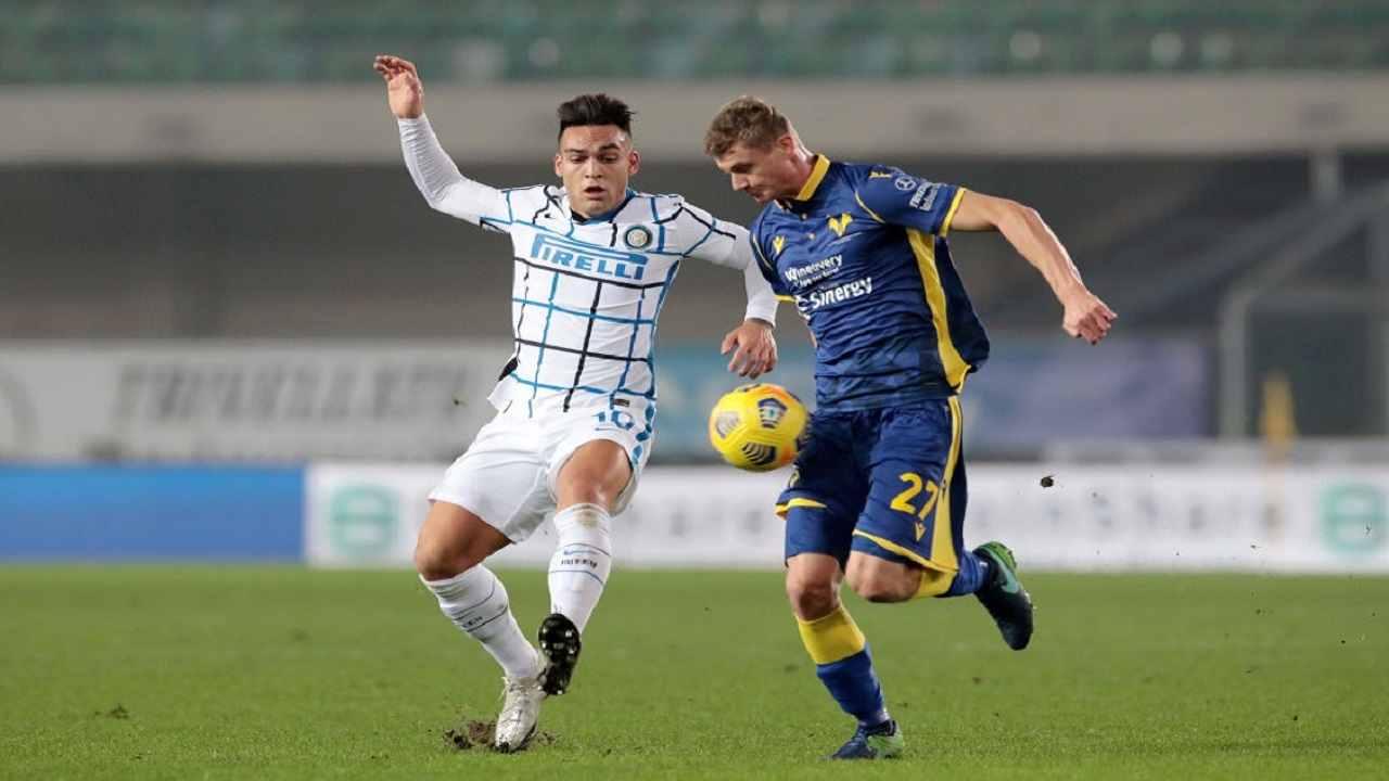 Verona-Inter tabellino pagelle