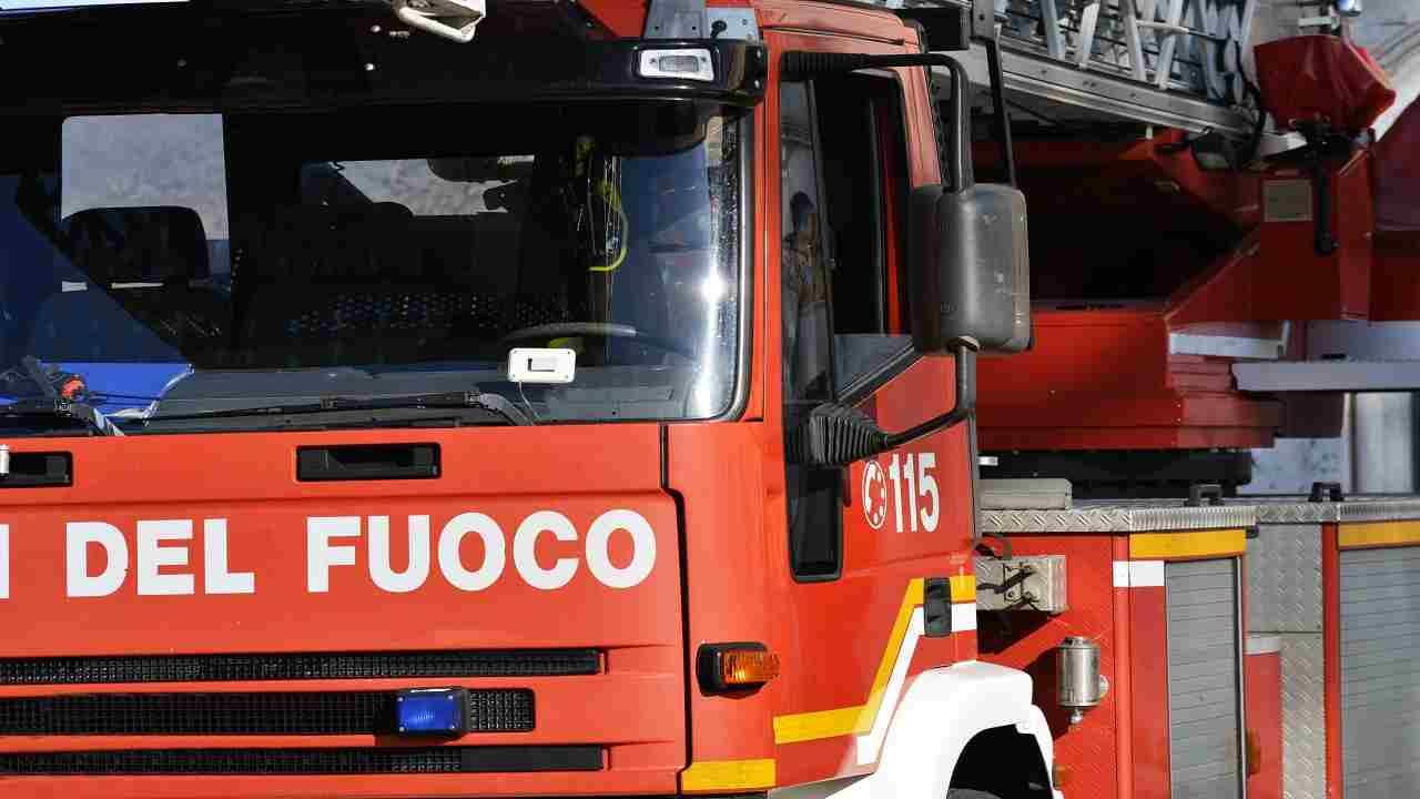 Incendio Bologna donna villetta