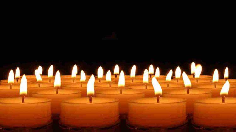 candele fuoco morte