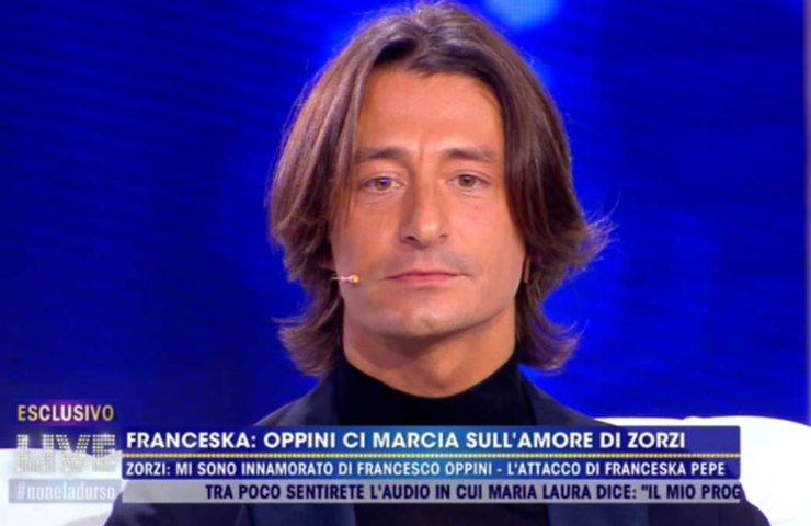 Francesco Oppini a Live Non è la D'Urso
