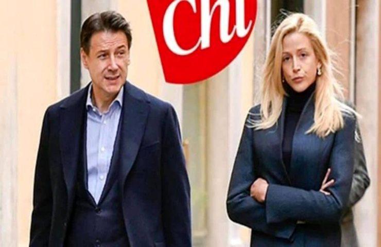 Olivia Palladino e Giuseppe Conte