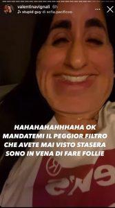 Valentina Vignali filtri Instagram foto mostruose