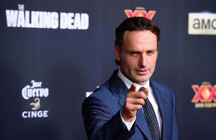 The walking dead film Andrew Lincoln (Rick Grimes)