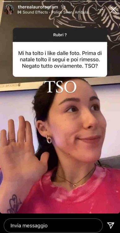Aurora Ramazzotti rubrichetta