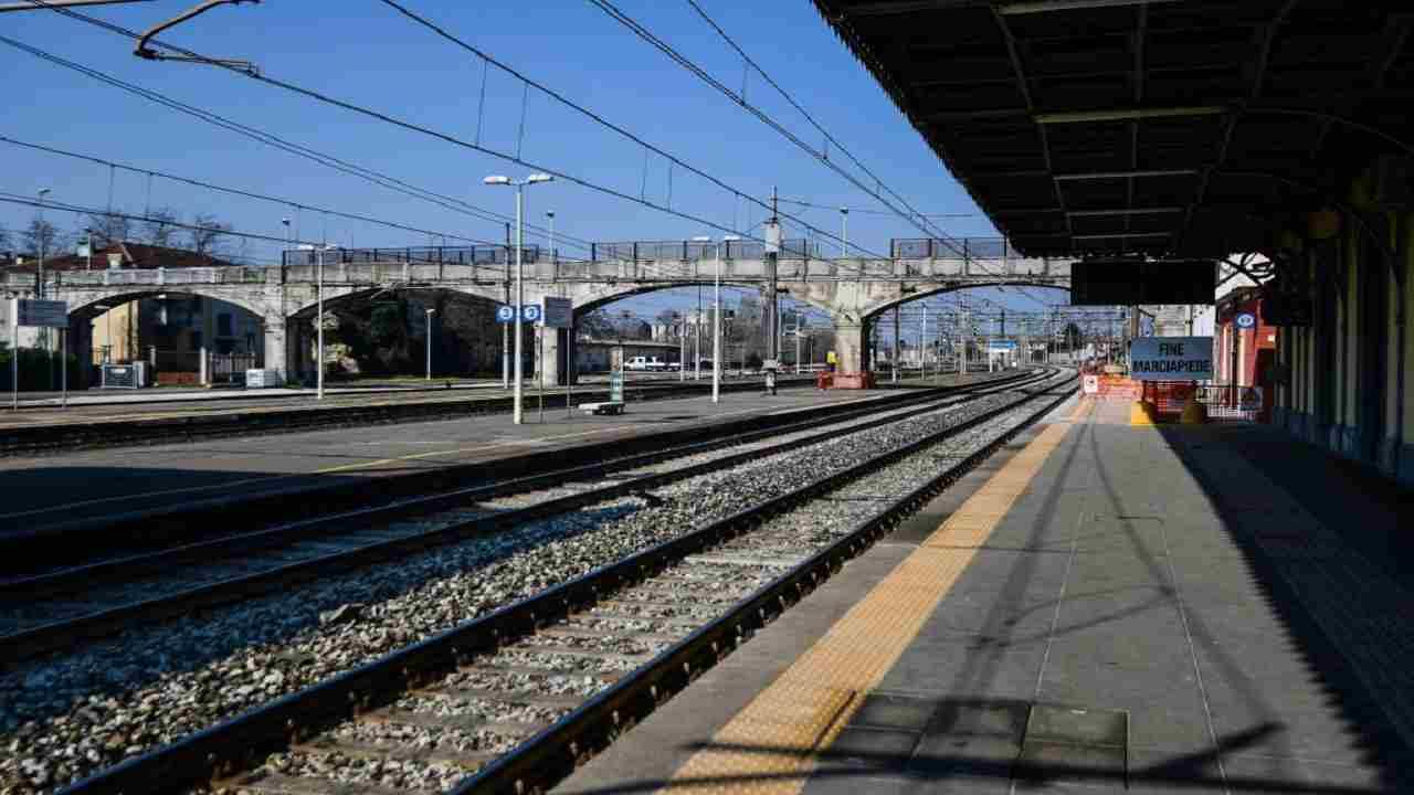 Bastia Umbra donna travolta uccisa treno