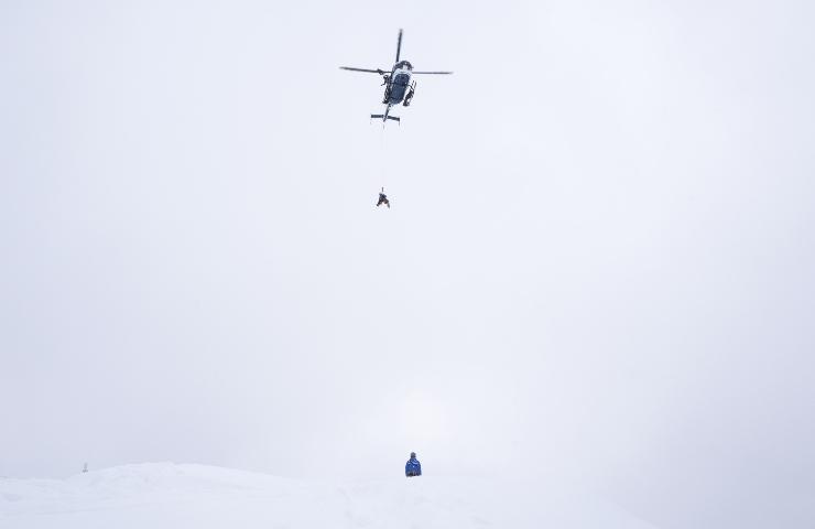 Valanga Flassin morto scialpinista