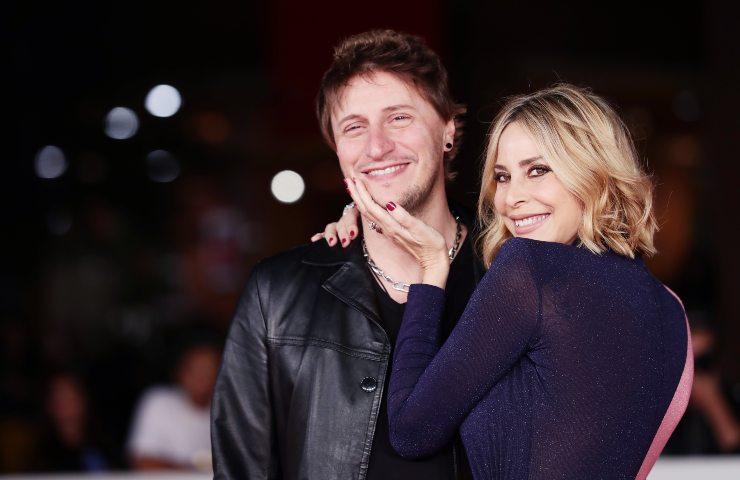 Stefania Orlando e il suo fidanzato