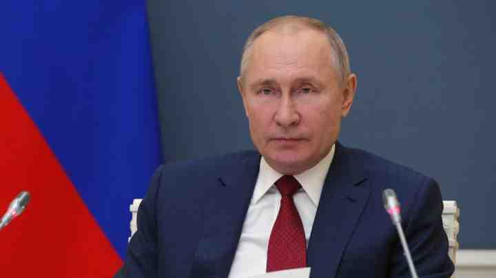 Putin durante il World Economic Forum