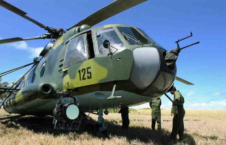 Cuba: cade elicottero militare, cinque morti L'AVANA