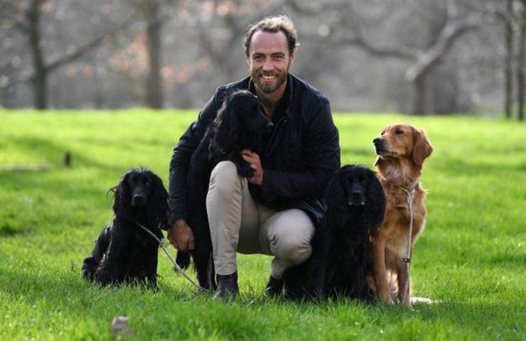 William Kate lutto cane
