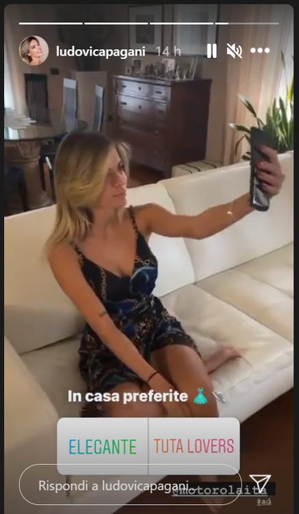 Ludovica Pagani lancia un sondaggio sui social. Irresistibile in vestitino estivo sul divano – FOTO