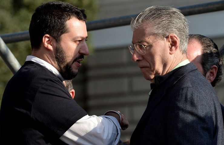 Matteo Salvini, Umberto Bossi Patto Lega Report