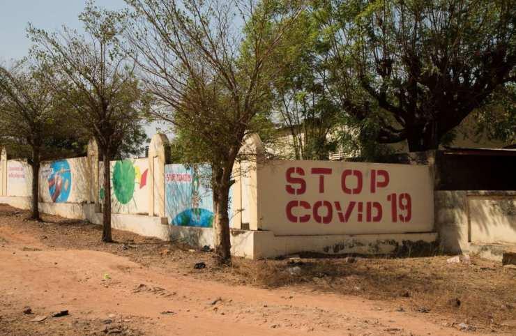 Pandemia Covid19 Africa virus