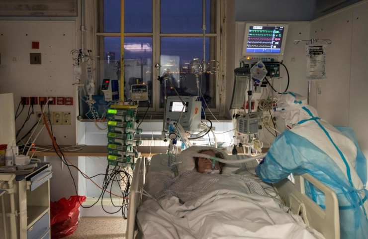Reparto terapia intensiva