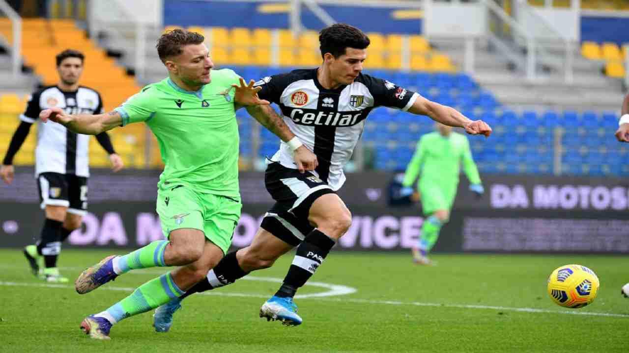 Parma-Lazio tabellino pagelle