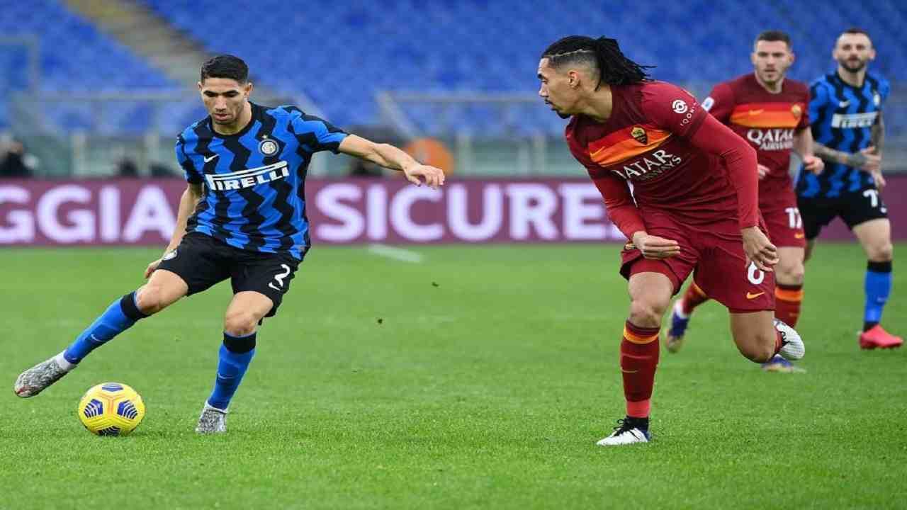 Roma-Inter tabellino pagelle Serie A