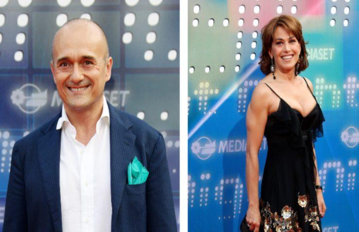 Alfonso Signorini e Barbara D'Urso