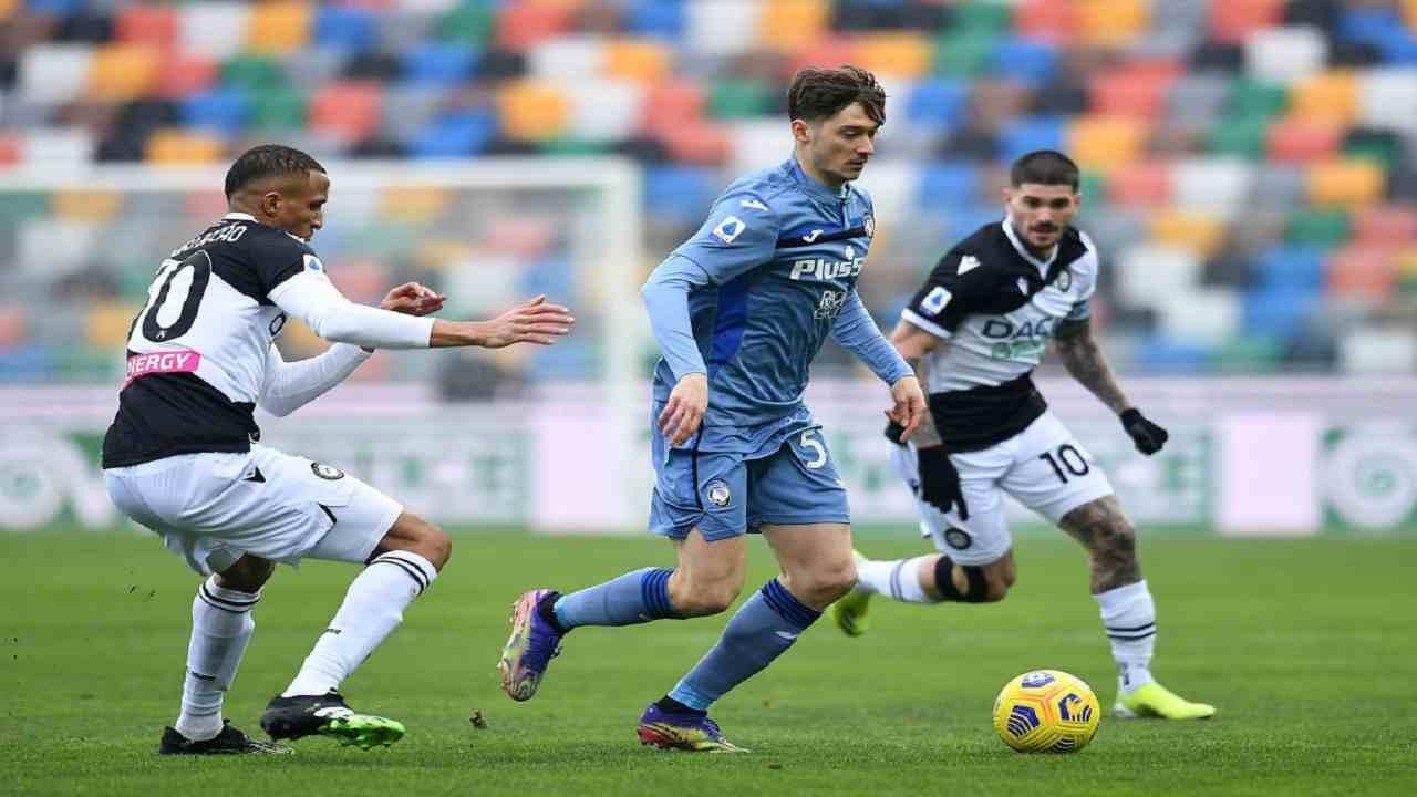 Udinese-Atalanta pagelle tabellino