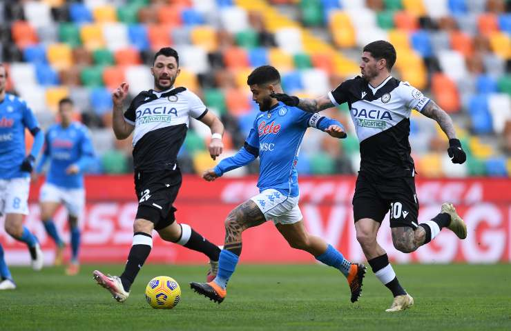 Udinese-Napoli pagelle tabellino