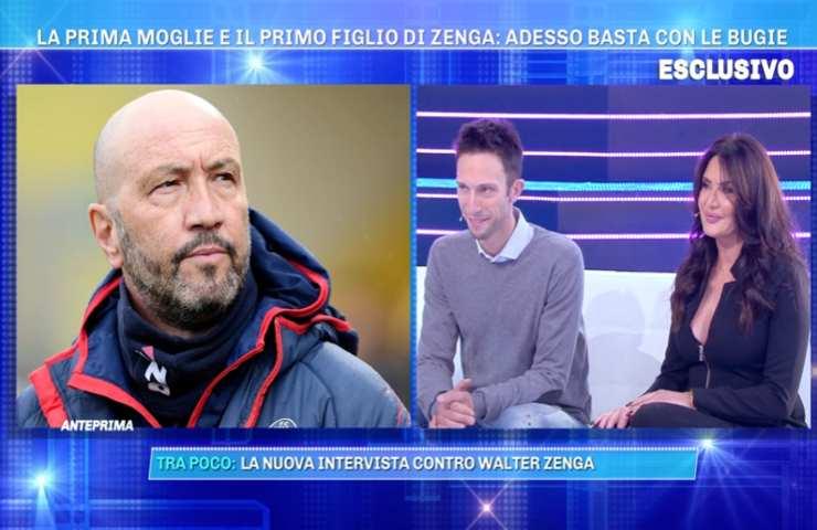 """Jacopo Zenga, figlio di Walter e Elvira Carfagna: """"Mi ha sempre esortato a vedere papà"""""""