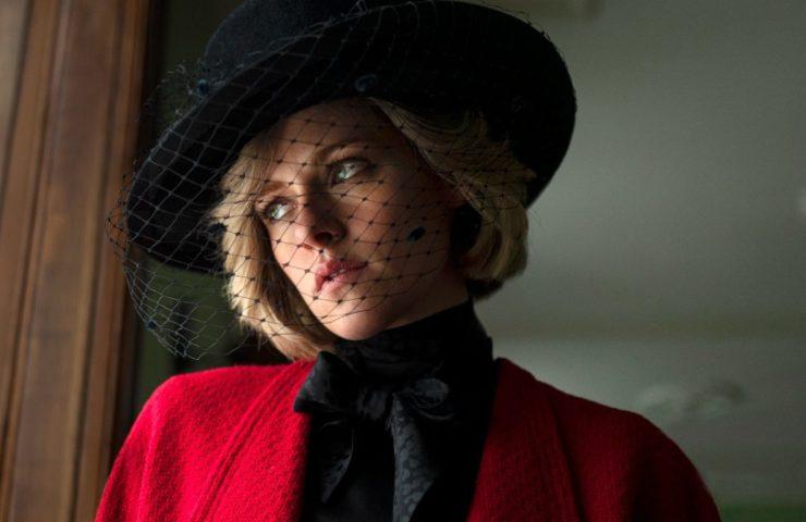 Kristen Stewart nei panni di Lady Diana