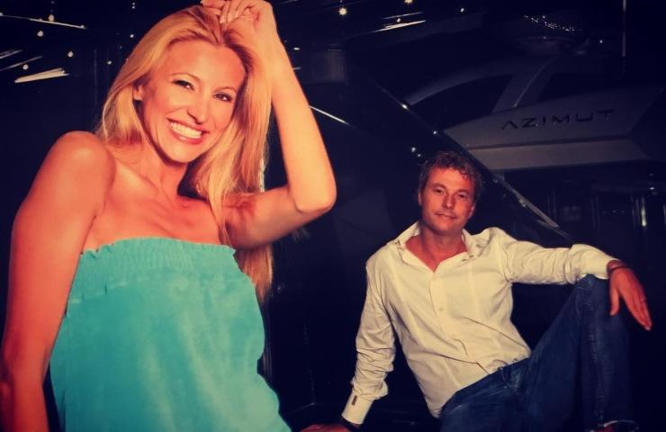 Adriana Volpe, Roberto Parli ex marito
