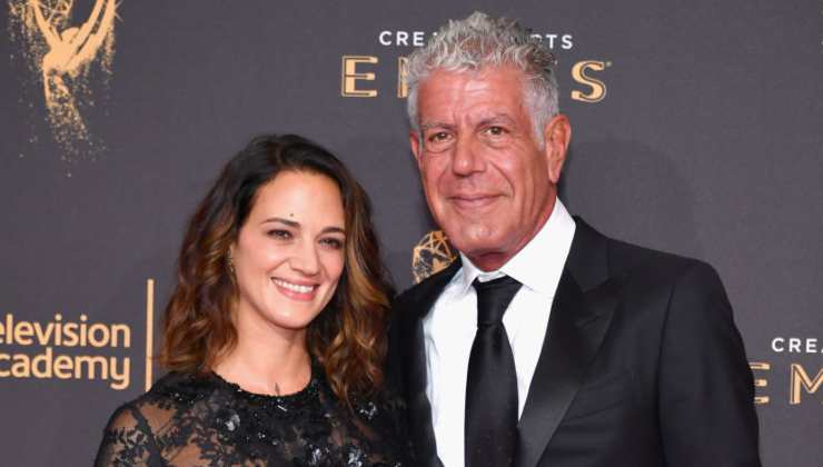 Asia Argento e Anthony Bourdain - Getty Images