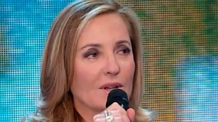 Barbara Palombelli in imbarazzo a Forum